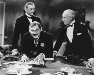 """""""Grand Hotel""""John Barrymore, Lionel Barrymore,& Lewis Stone1932 MGM**R.C. - Image 3462_0008"""