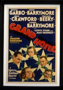 """Grand Hotel""Poster1932 MGM**I.V. - Image 3462_0037"