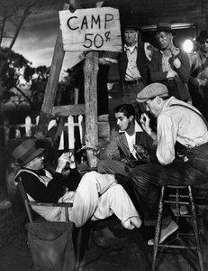"""The Grapes of Wrath"" Director John Ford, Tyrone Power, Henry Fonda 1940 20th Century Fox - Image 3463_0116"