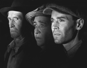 """The Grapes of Wrath""Russell Simpson, Jane Darwell, & Henry Fonda1940 20th Cent. Fox**I.V. - Image 3463_0133"
