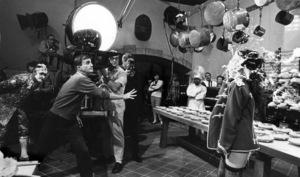 """The Great Race""Jack Lemmon, director Blake Edwards, Natalie Wood1965 Warner Brothers © 1978 Bob Willoughby - Image 3467_0105"