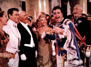 """""""The Great Race,""""Tony Curtis and Jack Lemmon1965 Warner Bros. © 1978 Mel Traxel - Image 3467_0316"""