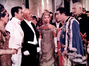 """""""The Great Race,""""Tony Curtis and Jack Lemmon1965 Warner Bros. © 1978 Mel Traxel - Image 3467_0332"""