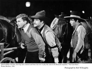 """""""Great Race, The""""Dir. Blake Edwards, Jack Lemmon, Peter Falk Photo taken in 1964 / Warner Bros. © 1978 Bob Willoughby - Image 3467_0334"""