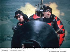 """Great Race, The""Jack Lemmon, Peter FalkPhoto taken in 1964 / Warner © 1978 Bob Willoughby - Image 3467_0336"