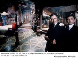 """Great Race, The""Jack Lemmon, Peter FalkPhoto taken in 1964 / Warner Bros. © 1978 Bob Willoughby - Image 3467_0337"