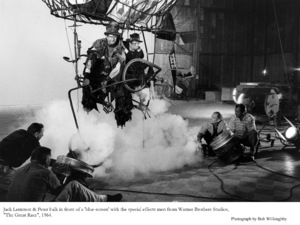 """Great Race, The""Jack Lemmon, Peter FalkPhoto taken in 1964 / Warner Bros. © 1978 Bob Willoughby - Image 3467_0338"