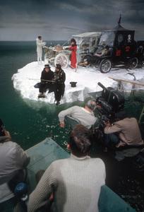"""The Great Race""Director Blake Edwards, Tony Curtis, Peter Falk, Jack Lemmon, Natalie Wood1964 Warner Brothers © 1978 Bob Willoughby - Image 3467_0401"