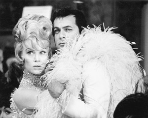 """The Great Race""Dorothy Provine, Tony Curtis1964 Warner Brothers © 1978 Bob Willoughby - Image 3467_0428"