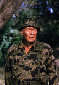 """The Green Berets,"" John WayneWarner Bros. 1967. © 1978 David Sutton - Image 3469_0161"