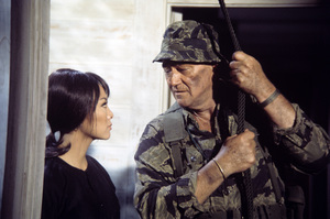 """The Green Berets""John Wayne, Irene Tsu 1967© 1978 David Sutton - Image 3469_0169"