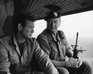 """The Green Berets""David Janssen, John Wayne1968 Warner Brothers © 1978 David Sutton - Image 3469_0196"