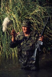 """The Green Berets,"" John WayneWarner Bros. 1967. © 1978 David Sutton - Image 3469_0200"
