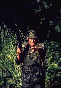 """The Green Berets,"" John WayneWarner Bros. 1967. © 1978 David Sutton - Image 3469_0201"