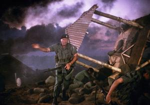 """The Green Berets,"" John WayneWarner Bros. 1967. © 1978 David Sutton - Image 3469_0227"
