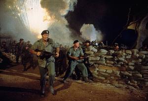 """The Green Berets,"" John WayneWarner Bros. 1967. © 1978 David Sutton - Image 3469_0235"