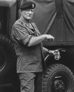 """The Green Berets""John Wayne 1968 Warner Brothers © 1978 David Sutton - Image 3469_0292"