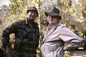 """The Green Berets""John Wayne, John Ford1968 Batjac Productions © 1978 David Sutton - Image 3469_0294"