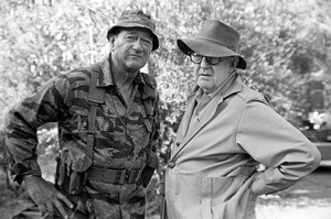 """The Green Berets""John Wayne, John Ford1968 Batjac Productions © 1978 David Sutton - Image 3469_0295"