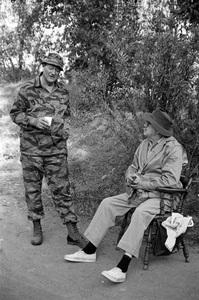 """The Green Berets""John Wayne, John Ford1968 Batjac Productions © 1978 David Sutton - Image 3469_0296"