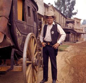 """""""Gunsmoke""""Buck Taylorcirca 1970**H.L. - Image 3470_0051"""