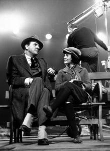 """Gypsy"" Karl Malden,Natalie Wood relaxing onset, 1962. © 1978 Mel Traxel - Image 3471_0113"