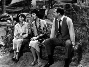 """Gypsy,"" Natalie Wood,Rosalind Russell, and Karl Malden1962 Warner Bros. © 1978 Mel Traxel - Image 3471_0117"