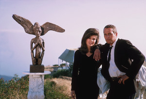 """Harper,""Paul Newman, Pamela Tiffinon the set. © 1978 David Sutton - Image 3477_0078"