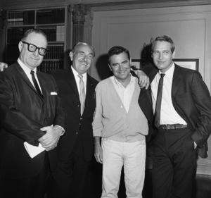 """Harper""Director Jack Smight, Jack Warner, Paul Newman1966© 1978 David Sutton - Image 3477_0137"