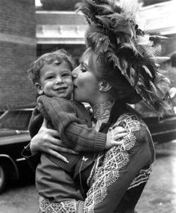"""Hello Dolly""Barbra Streisand and son Jason Gould1969 20th Century Fox**I.V. - Image 3483_0040"