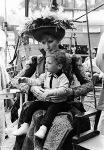 """Hello, Dolly!""Barbra Streisand and son Jason Gould1969 20th Century Fox** I.V. / M.T. - Image 3483_0047"