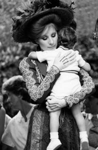 """Hello, Dolly!""Barbra Streisand and son Jason Gould1969 20th Century Fox** I.V. / M.T. - Image 3483_0048"