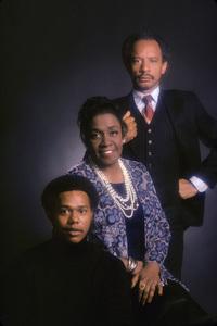 """The Jeffersons""Mike Evans, Isabel Sanford, Sherman Hemsley1975 © 1978 Mario Casilli - Image 3513_0020"