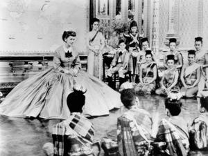 """The King and I""Deborah Kerr © 1956 20th Century Fox - Image 3523_0001"