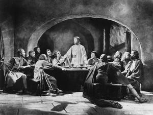 """King of Kings""H.B. Warner as Jesus Christ1927 Pathe/DeMillePhoto By W. Mortensen - Image 3524_0001"