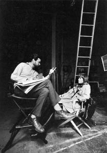 """""""Klute""""Director Alan J. Pakula, Jane Fonda1970 Warner Brothers © 1978 Bob Willoughby - Image 3529_0401"""