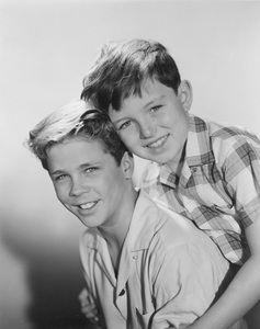 """Leave It To Beaver""Tony Dow, Jerry Mathers1957Photo by Gabi Rona - Image 3534_0001"