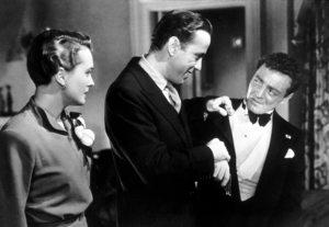 """""""The Maltese Falcon""""Mary Astor, Humphrey Bogart, and Peter Lorre1941 Warner Bros.MPTV - Image 3570_0002"""