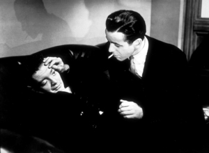 """The Maltese Falcon""Peter Lorre and Humphrey Bogart1941 Warner Bros.MPTV - Image 3570_0005"