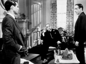 """The Maltese Falcon""Sidney Greenstreet and Humphrey Bogart1941 Warner Bros.MPTV - Image 3570_0006"