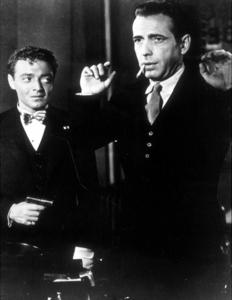 """The Maltese Falcon""Humphrey Bogart and Peter Lorre1941 Warner Bros.MPTV - Image 3570_0008"