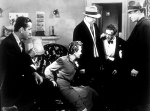 """""""The Maltese Falcon""""Humphrey Bogart, Mary Astor, and Peter Lorre1941 Warner Bros.MPTV - Image 3570_0011"""