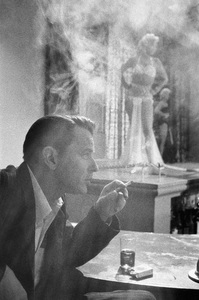 """Frank Sinatra on the set of """"The Man with the Golden Arm""""  1955© 1978 Bob Willoughby - Image 3575_0006"""