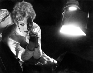 """""""The Man with the Golden Arm""""Kim Novak with studio light1955 © 1978 Bob Willoughby - Image 3575_0081"""