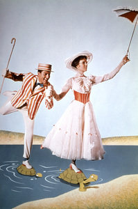 """""""Mary Poppins""""Dick Van Dyke, Julie Andrews1964 Disney - Image 3581_0015"""