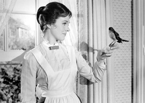 """Mary Poppins""Julie Andrews1964 Disney - Image 3581_0035"