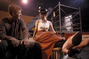 """Mary Poppins""Dick Van Dyke, Julie Andrews 1963 © 1978 Sid Avery - Image 3581_0044"