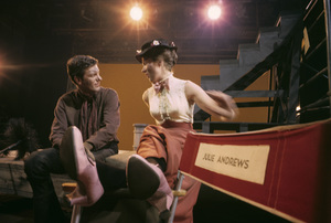 """Mary Poppins"" Dick Van Dyke, Julie Andrews 1963 © 1978 Sid Avery - Image 3581_0047"