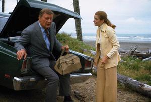 """""""McQ,"""" Warner Bros. 1973.John Wayne and Diana Muldaur. © 1978 David Sutton - Image 3587_0041"""