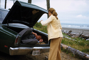 """""""McQ,"""" Warner Bros. 1973.John Wayne and Diana Muldaur. © 1978 David Sutton - Image 3587_0042"""